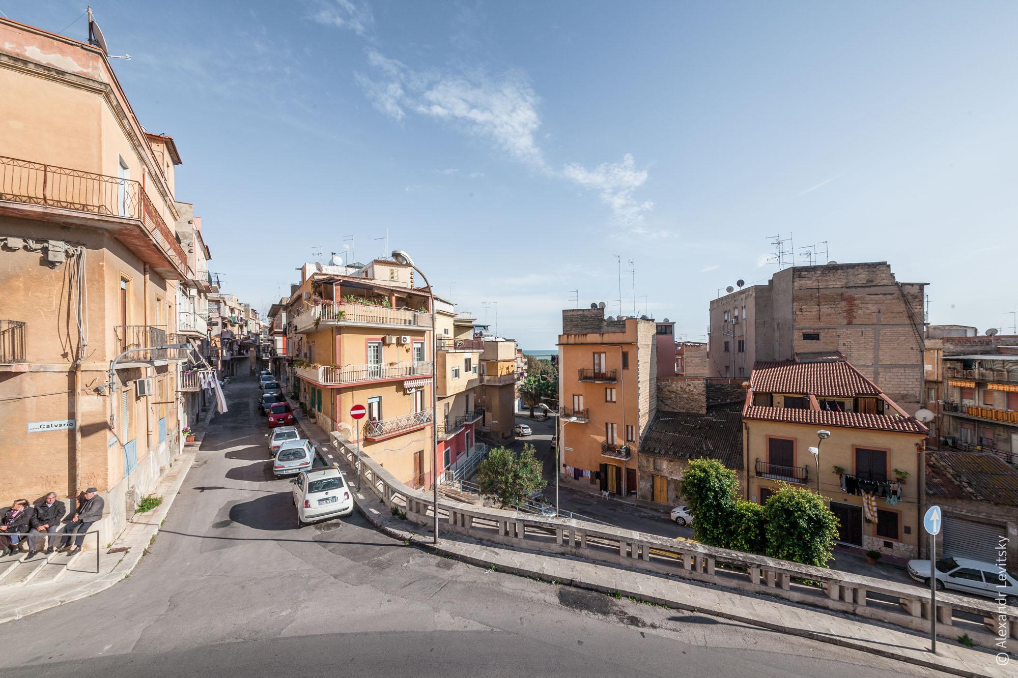 Италия, Сицилия, Джела