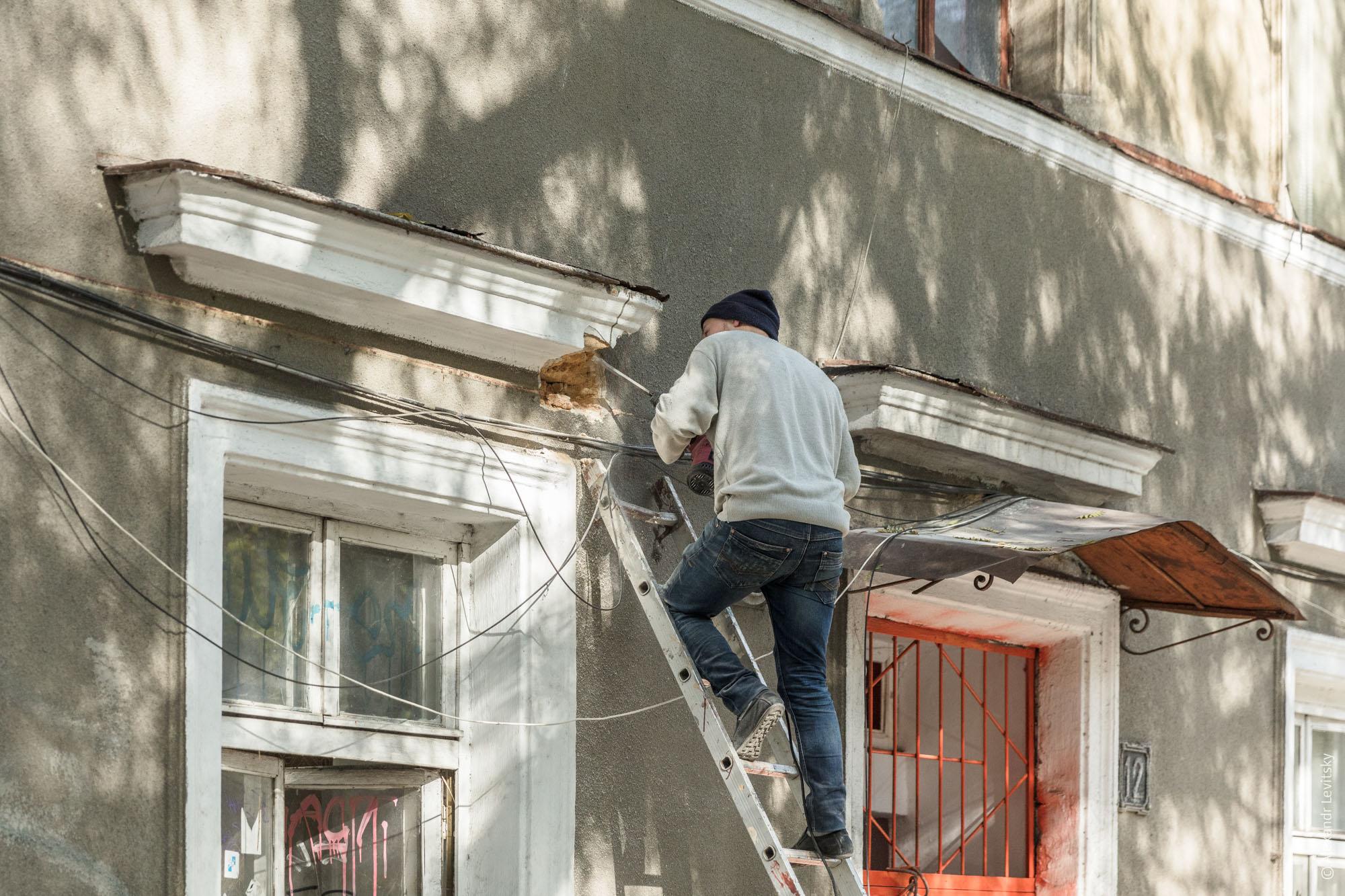 Как реставрируется Одесса
