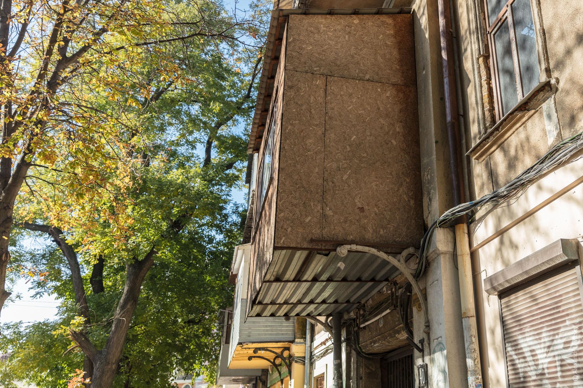 Одесские балконы